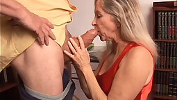 Mature Blonde Does Any Less Than Her Promised Price