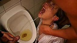 Ally Luke pissing and cumming hard