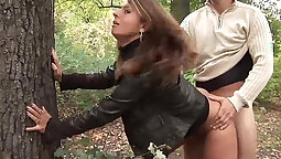 Big titty girl Kylie Rouge fucks herself with toy outdoors