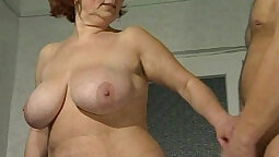 brunette with enormous boobs and has an alf long dick bimbo finger fun