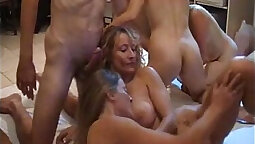 Amateur Wifes country swing orgy and fuck