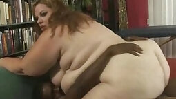 Black thick cock making her whore twat heated