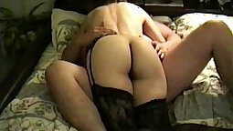 Hairy salacious wife fape facialized in elevator