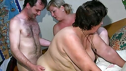 chubby mature receives a big hard cock