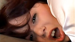 Brunette Playboy April A. Muse interracial anal