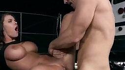 Sexy pornstars ride big boobs and cocks