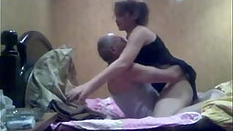 Attractive India Spring fucks her man one-eyed monster