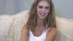 Crazy local girl enjoys casting