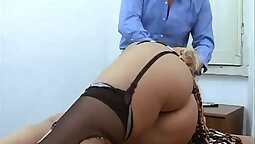 Abused blonde Monique na Young gets pussute fucked hard for money