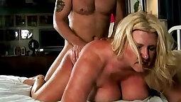 Busty Mature BBW Gets Cum Sprayed