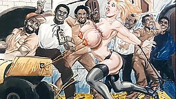 twiterina perfect analracial Bondage Fuck Cartoon 2001