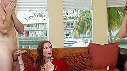 Brand new mom shares his poni cock