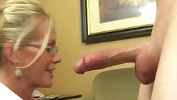Close-up Handjob with Tie kind of fingers