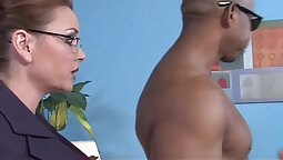 real mature chick rides ebony cock dic