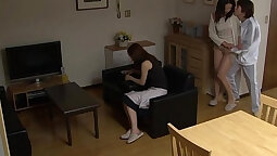 Beautiful japanese teen fucked by a stranger with a very good cock