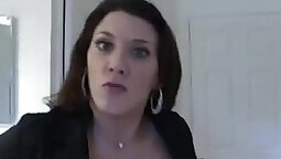 Extremely Horny Voyeur Caught Jerking and Fingered So Hard By Wild Stepmom