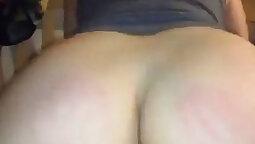 Chubby Dirtbag With Big Ass Riding Big Cock