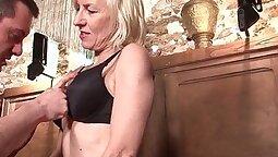 Amateur Mature Blond Fuck With Cum
