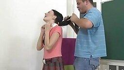 Olivia and her tight vagina spread