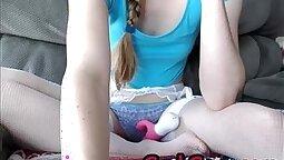 cam girl tied up by schoolgirl