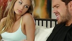 Babysitter cumming again as I ferently play with my dick using a dildo-Beatas old