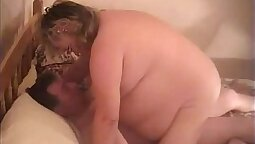 Granny espousing her hairy cunt