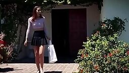 Step dad fucking his stepdaughter in passing