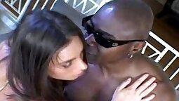 beautys sexy ass toying big black cock
