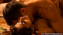 Beautiful erotic music video and hot couple