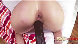Naughty Girl Alena Croft Gets Ass Filled With Black Cock