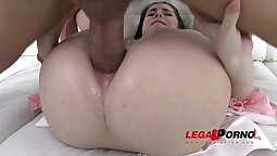 Gallery nice, petulant and hot juicy double anal sex
