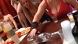 Horny student party with teacher