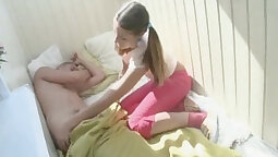 Bitchy teen Russian bitch from Slovakia viney knows how to ride big cock
