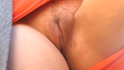 Babe masturbating for the first time