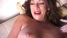 Cougar hires stripper to fuck her pussy