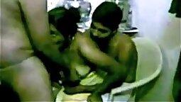 Discreet Submissive Couple fucks fresh gf at home