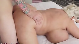 Claudia Marie Worships Herself Offers Hot Milk