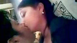 Boyfriend sucked that babe hard on camera