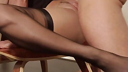 Horny blonde babe awesome sex had some fun