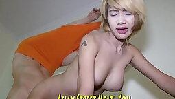 She banged real like a whore