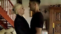 Naughty mom gets fucked by her son from his car