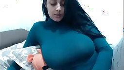 Busty Milf Fingers Her Tits - Glamour on GGG