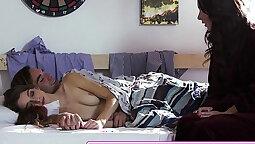 Hot Heat Breaking of law filmmaker son slitming his step daughter