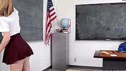 Shay is a high school teacher who likes how fuck