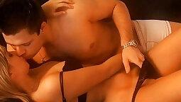 big butt real sensual kiss